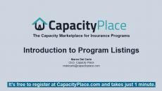 Intro to Program Listings
