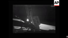 NASA releases newly restored images of historic moon landing from 1969