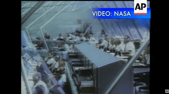 NASA released Thursday newly restored video...