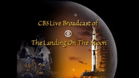 CBS Coverage of Apollo 11 Lunar Landing