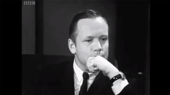 Neil Armstrong interview, BBC 1970